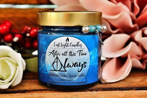 ALWAYS| After all this tme? | Organic Soy Wax Candle | Bookish Candle