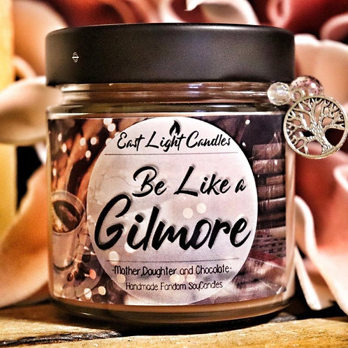 Be like a Gilmore  Bookish Candle   Duftkerze  Buchkerze   Scented Candle