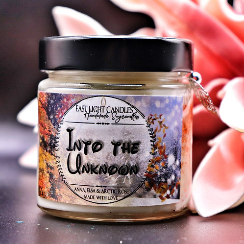 Into the unknown | Disney inspiriert | Candle | Buchkerze | Scented Candle