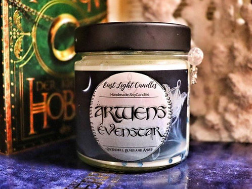 Arwens Evenstar |Bookish Candle | Candle | Lord of the Ring / The Hobbit