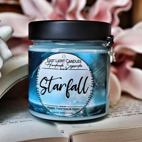 Starfall  Bookish Candle   Buchkerze    Merch   Duftkerzen