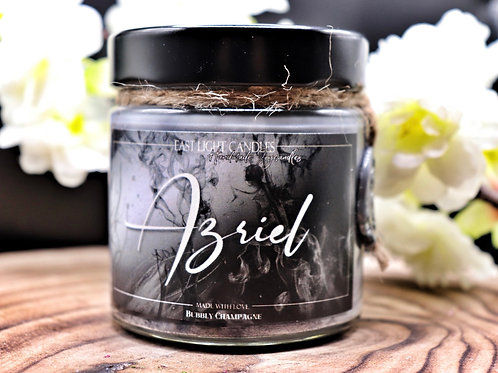 Azriel   Candle   Buchkerze   Scented Candle   Soywax Candle