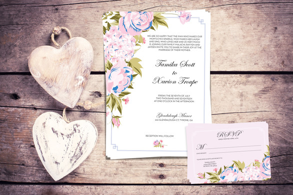 Invititation & RSVP Design