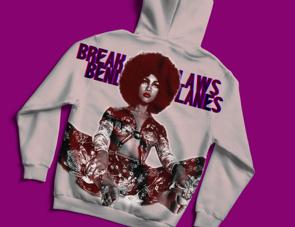 Break Laws Bend Lanes Hoodie