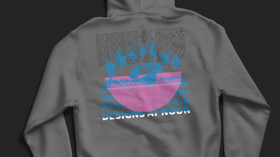 """Designs at Noon"" Hoodie"