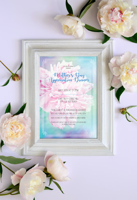 Mother's Day Event Flyers