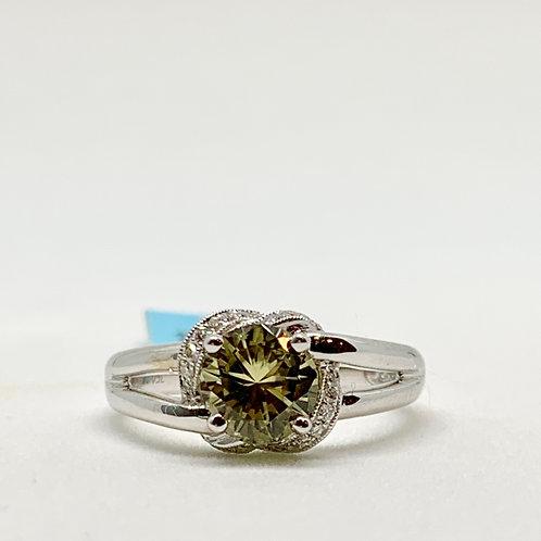 Zultanite and Diamond Ring