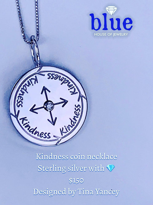 kindness coin necklace
