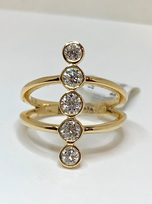 5 Stone Diamond Fashion Ring