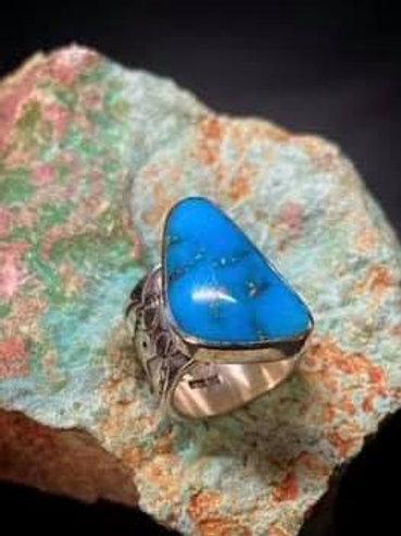 arizona blue turquoise ring