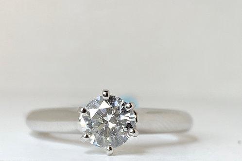 Brilliant Round Solitaire Engagement Ring
