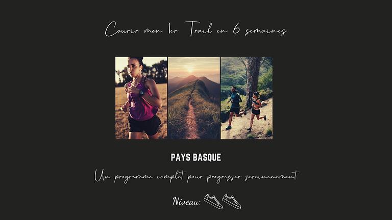Pack « Courir mon premier trail en 6 semaines » - (bientôt disponible)