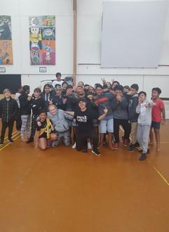 Te wharau school beatboxing workshops