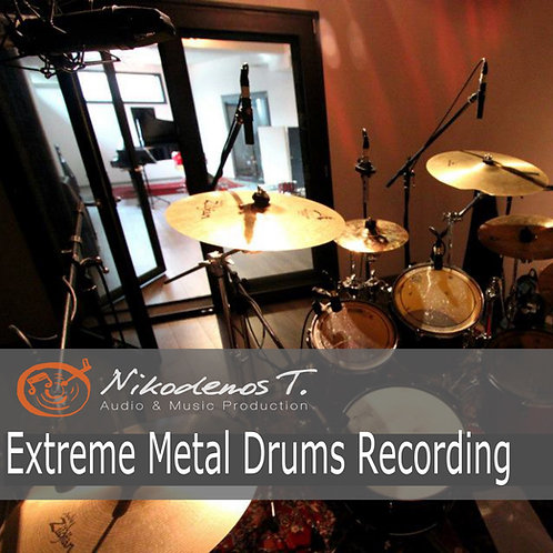 Extreme Metal Drums Recording - The Sonic Ark Collection