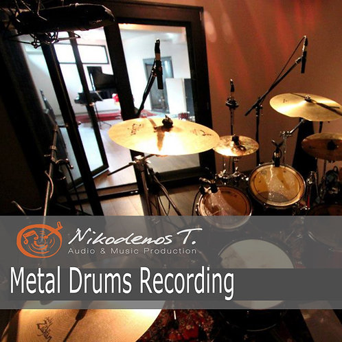 Metal Drums Recording - The Sonic Ark Collection