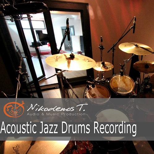 Acoustic Jazz Drums Recording - The Sonic Ark Collection