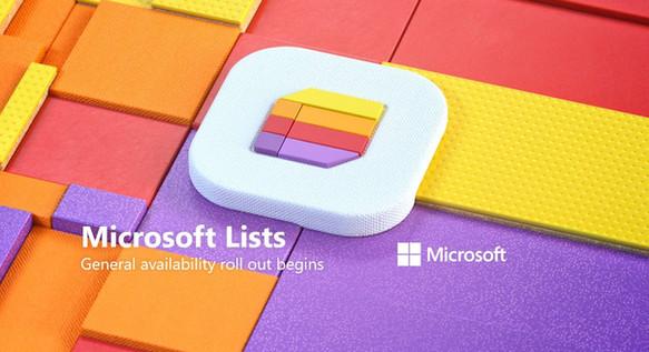 Coming Soon! Microsoft Lists