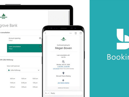 Bookings comes to Microsoft 365