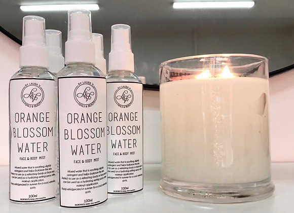 Orange Blossom Water: Face & Body Mist