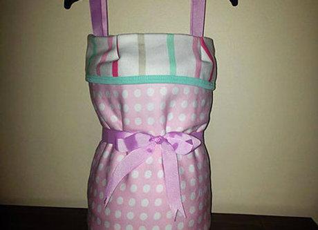 Girl's Dress Nappy Surprise