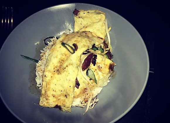 Spicy Asian Omelette