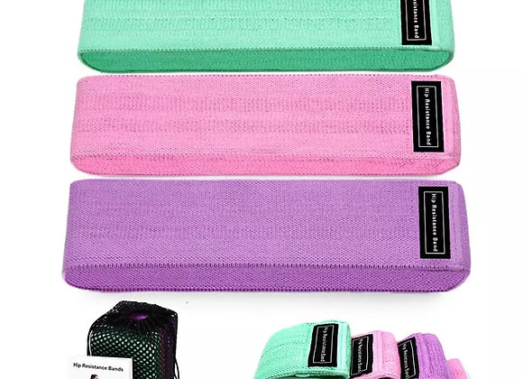 Ladies Pastel Resistance Bands