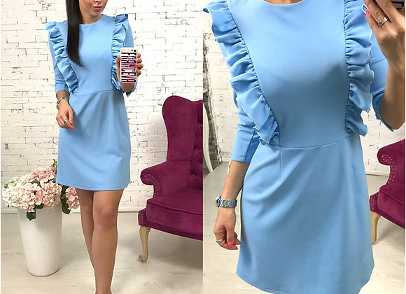 Ruffle Tunic Dress