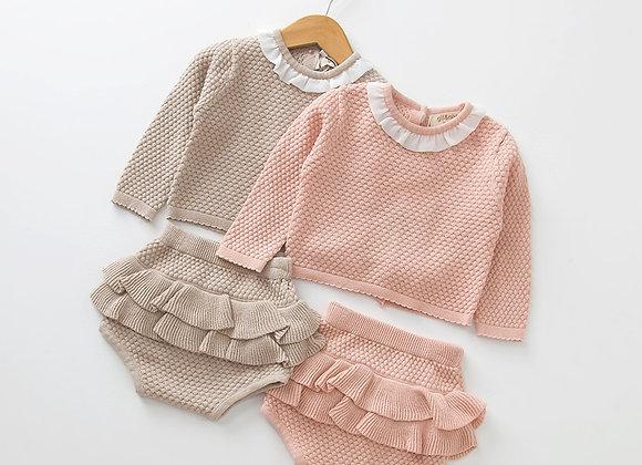 2pc Girls Knitwear Set