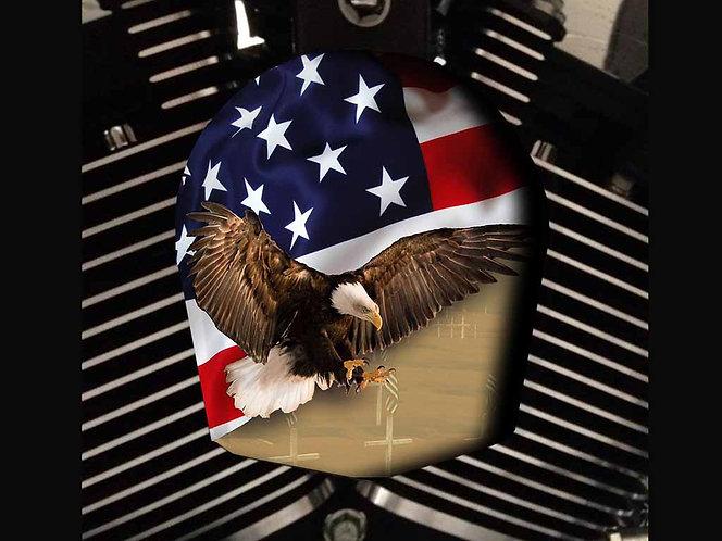 AMERICAN EAGLE FLAG (HORN)