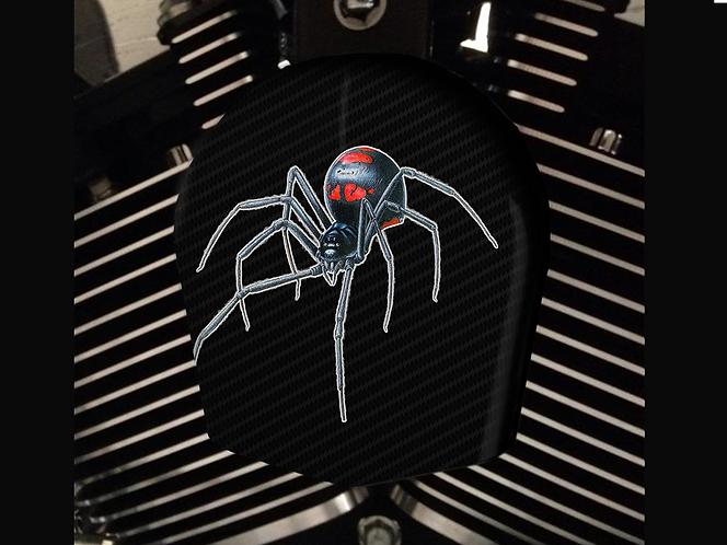BLACK WIDOW SPIDER (HORN)