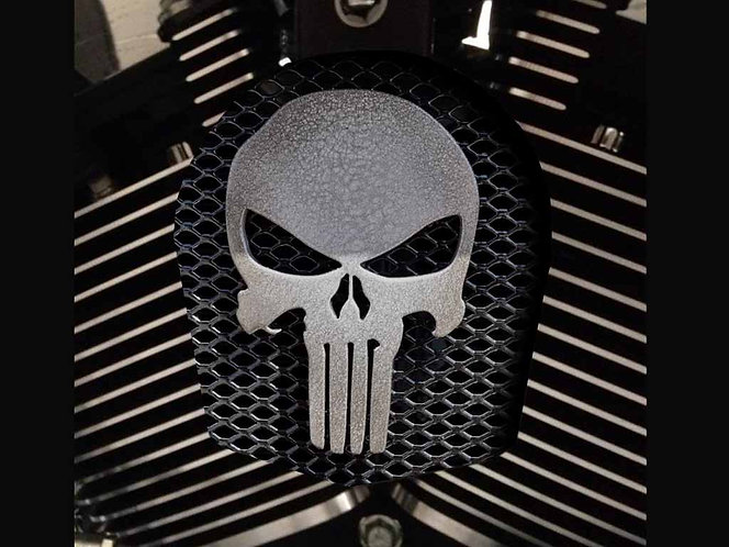 PUNISHER GREY GRILLE (HORN)