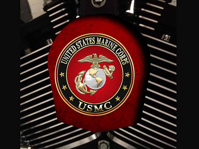 US MARINE CORPS (RED) (HORN)