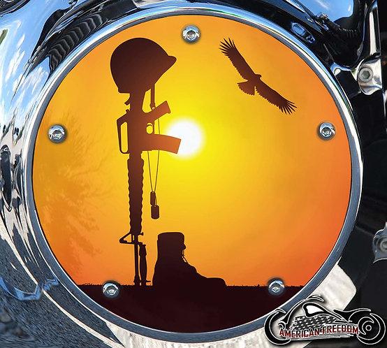 FALLEN SOLDIER SUNSET