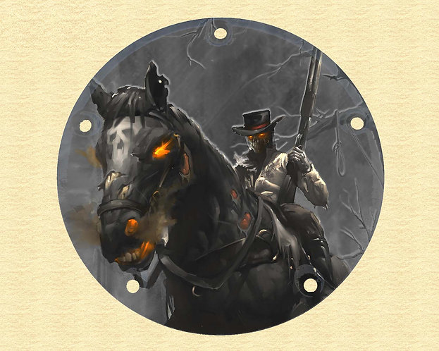 "NEW ARTWORK- Aaron- Narrow Profile derby cover ""Glossy"" - NEW ARTWORK"