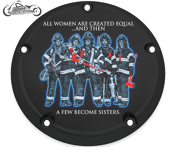FIREFIGHTERS BECOME SISTERS
