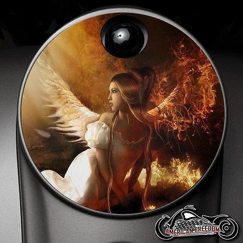 GOOD VS EVIL ANGEL (FUEL DOOR)