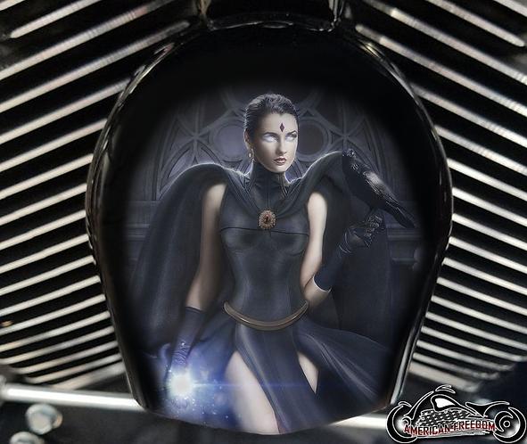 BRYCE - Custom Raven Horn Cover