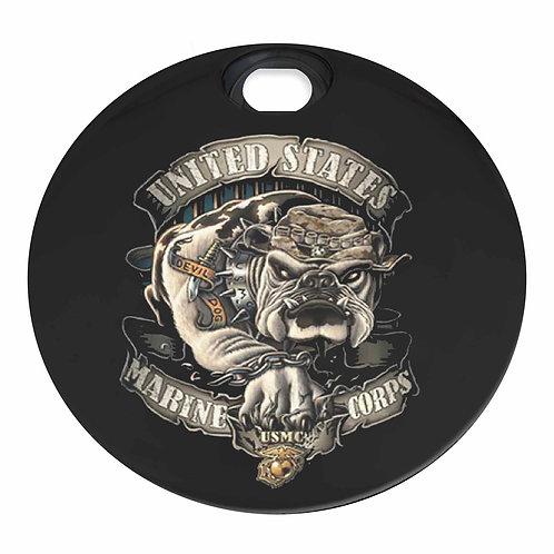 USMC BULLDOG DEVIL DOG (FUEL DOOR)