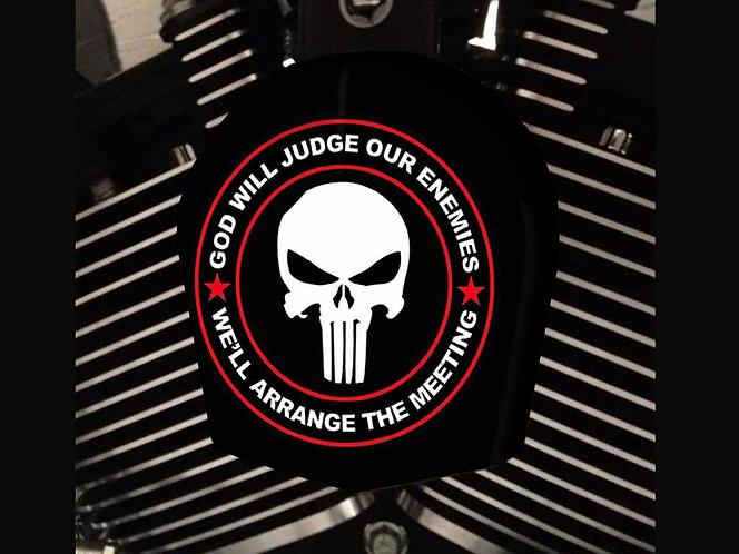 PUNISHER GOD WILL JUDGE (HORN)