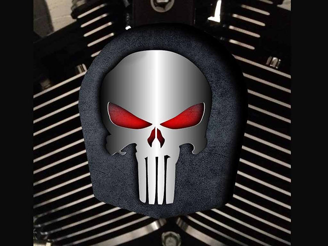 PUNISHER SILVER (RED GLOW) (HORN)