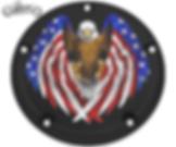 bald eagle patriotic derby timer cover