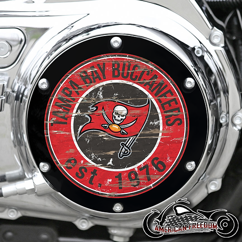 TIM - Custom Buccaneers 6 Hole Derby & 2 Hole Horizontal Timing Covers