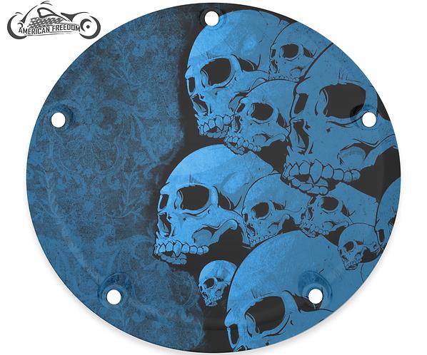 SKULL PILE (BLUE)