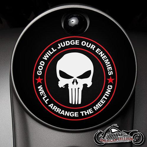 PUNISHER GOD WILL JUDGE (FUEL DOOR)