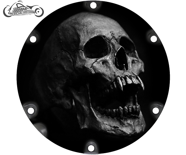 AARON - Custom 6 Hole Vampire Skull