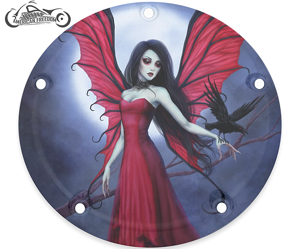 GOTHIC FAIRY WITH RAVEN