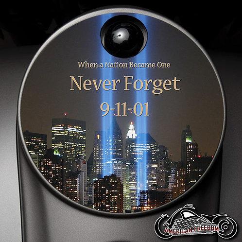 9/11 NEVER FORGET (FUEL DOOR)