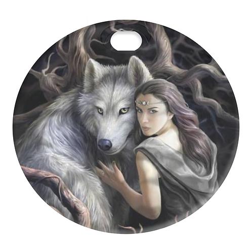 WOLF & WOMAN (FUEL DOOR)