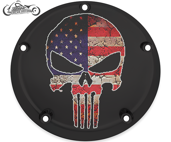 PUNISHER DISTRESSED FLAG