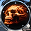 Thumbnail: ORANGE FLAME SKULL